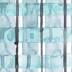 Turquoise Plaid
