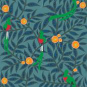 quetzal design E [kale]