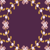 Ditsy Mistletoe Wreath