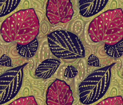 Flora fabric by laurieolinder@gmail_com on Spoonflower - custom fabric