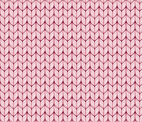 Knitted Stitches fabric by dearchickie on Spoonflower - custom fabric