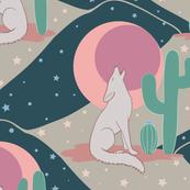 Desert Moon Coyote