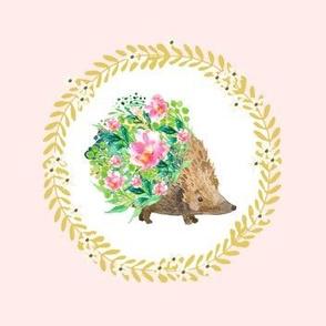 Hedgehog Love Wreath
