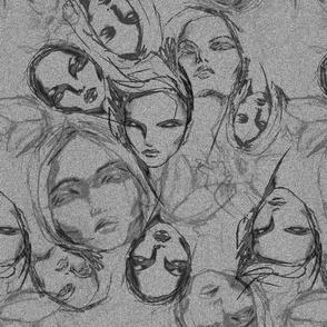 grey heads