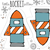 Little Rocket Pillow