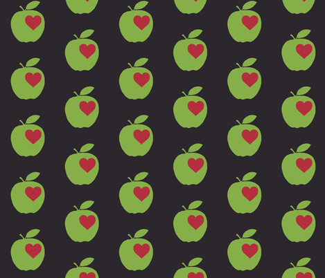 Apples fabric by redthanet on Spoonflower - custom fabric