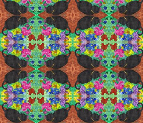 Bird's-Eye View fabric by valerie_d'ortona on Spoonflower - custom fabric