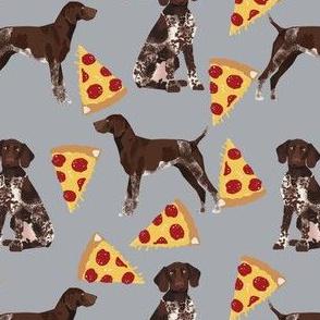 german shorthaired pointer pizza fabric pointer dog design