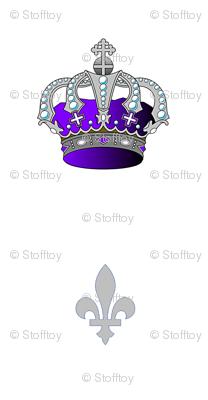 crown and fleur de lis 1