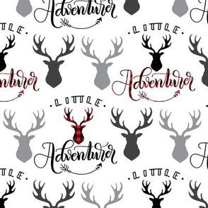 Little adventurer - 6 inch - Deer heads