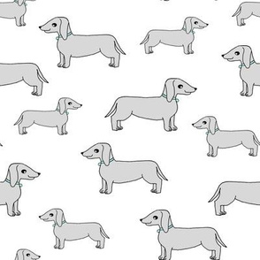 doxie // dogs dog fabric dachshunds design andrea lauren fabric andrea lauren design