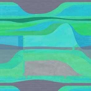 Midcentury Plateau-mint