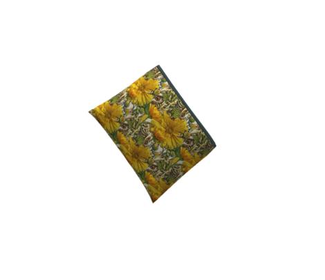 Midcentury plateau-orange-mustard