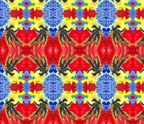 Lovers' Dance fabric by valerie_dortona on Spoonflower - custom fabric
