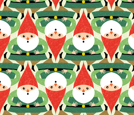 gnomi fabric by gaiamarfurt on Spoonflower - custom fabric