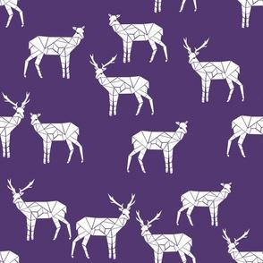 deer // purple fabric nursery baby design andrea lauren fabrics
