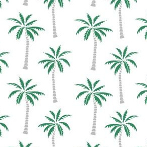 palm tree // tropical palm print tropicals palms fabric andrea lauren palms design palms