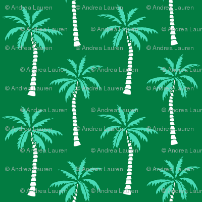 palm tree // green summer fabric cute summer 2017 summer tropical palms fabric