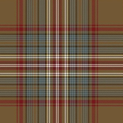 "Stuart / Stewart tartan variant, 7"""