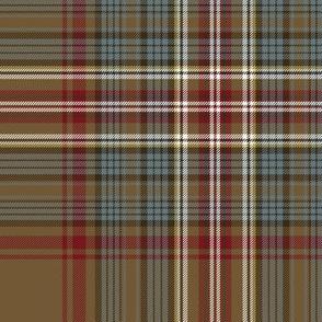"Stuart / Stewart tartan variant, 10"""