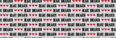 (micro print) heart breaker