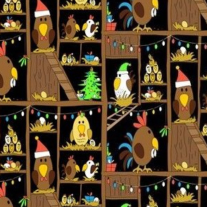 Chicken Coop Christmas - by Kara Peters