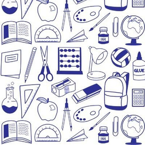 school supplies - colour me