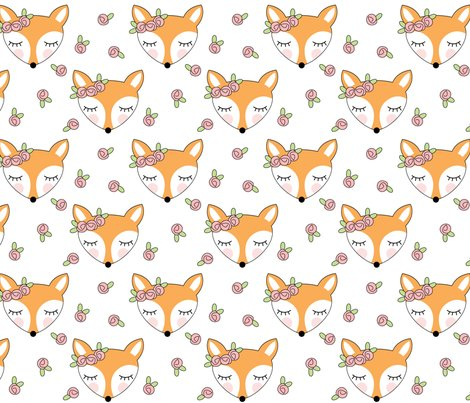 Fox-with-pink-rosebuds-on-white_shop_preview