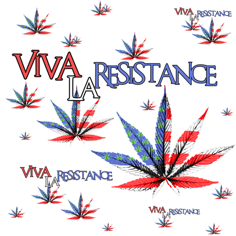 Viva La Resistance fabric by camomoto on Spoonflower - custom fabric