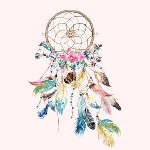 "7"" Bohemian Dreams - Pink / Dream Catcher"