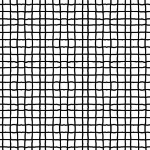 grid by hand - black