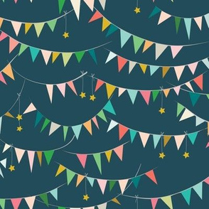 Ambrosia Bunting (midnight)