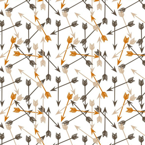 arrow // orange brown khaki arrows fabric andrea lauren design boy nursery andrea lauren fabric