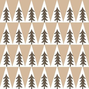 trees // camping bear fabric trees woodland baby nursery fabric khaki and brown fabric andrea lauren