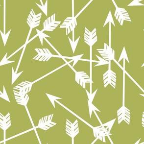 arrow // green lime green fabric andrea lauren nursery baby design andrea lauren fabric