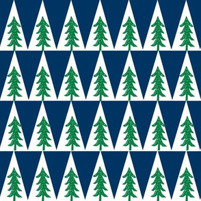 trees // navy and kelly green fabric nursery baby tree fabric andrea lauren baby boy nursery