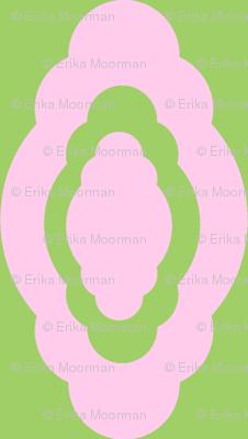 Damask LG- pink kiwi
