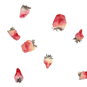 strawberries_teatowel