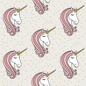 unicorn || pink stars