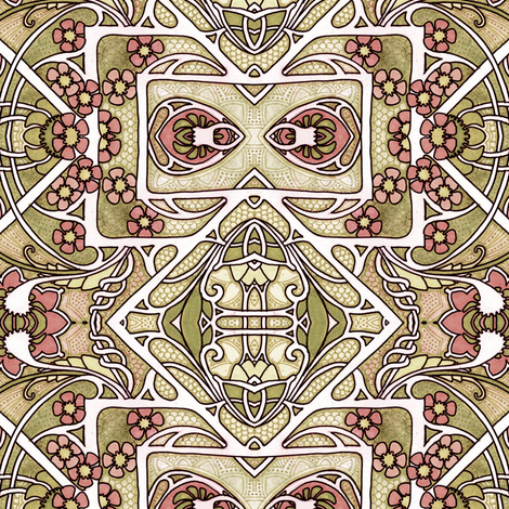 Sandy Notion fabric by edsel2084 on Spoonflower - custom fabric