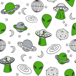 ufos // ufo alien fabric space ship spaceman fabric andrea lauren 90s fabric design