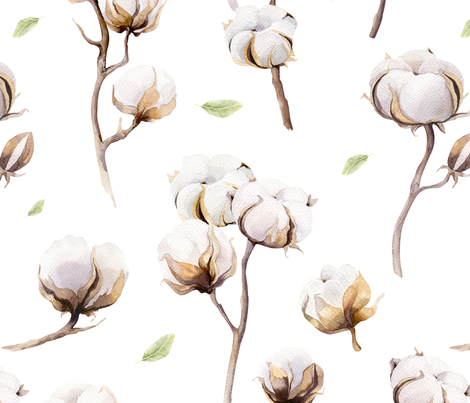 pattern_cotton2 fabric by peace_shop on Spoonflower - custom fabric