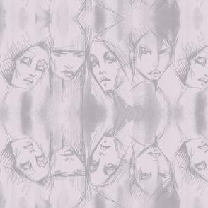 mauve heads