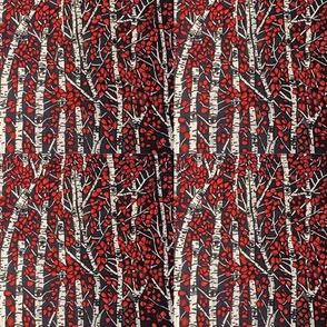 Red aspens