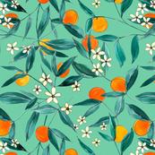 Orange Summer (Light Green)