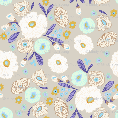 indy bloom design iced florals