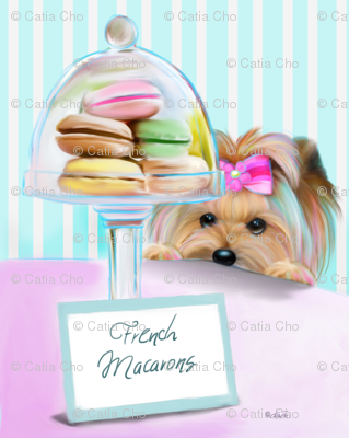 Yorkie French Macaroons L