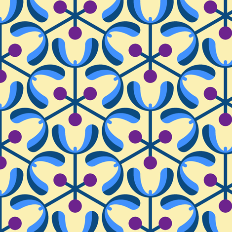 mistletoe 3m : poison berry nightmare fabric by sef on Spoonflower - custom fabric