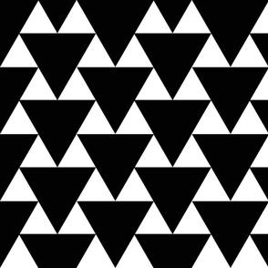 Black Triangle Print