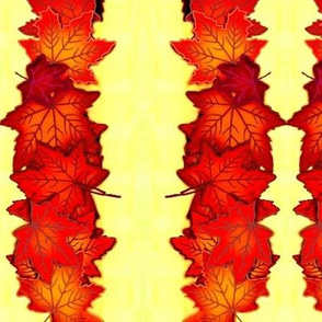 Autumn Leaf Stripes 2